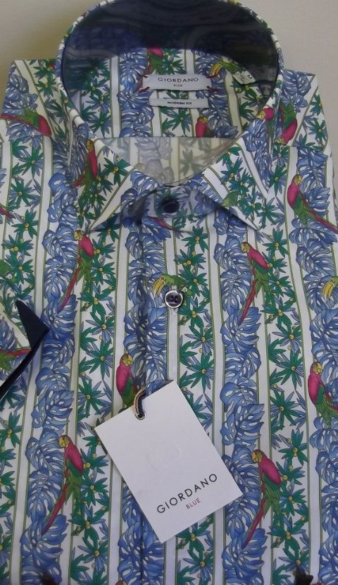 Giordano Short Sleeved Summer Shirt - 916517/10
